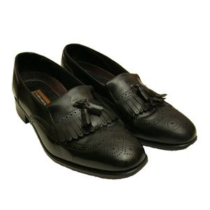 Florsheim Men's Tassel Dress Loafers 11 D Black